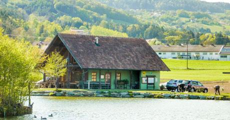 Vereinsfischerhütte in Hofkirchen